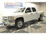 2013 Summit White Chevrolet Silverado 1500 LS Crew Cab 4x4 #67566459