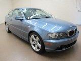 2004 Steel Blue Metallic BMW 3 Series 325i Coupe #67566117