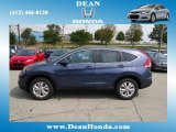 2012 Twilight Blue Metallic Honda CR-V EX 4WD #67566424