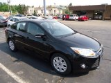 2012 Tuxedo Black Metallic Ford Focus SE Sedan #67566250