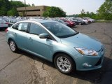 2012 Frosted Glass Metallic Ford Focus SEL Sedan #67566249