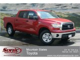 2012 Barcelona Red Metallic Toyota Tundra CrewMax 4x4 #67566085