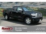 2012 Black Toyota Tundra Limited Double Cab 4x4 #67566081