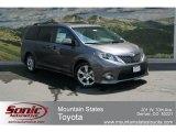 2012 Predawn Gray Mica Toyota Sienna SE #67566075