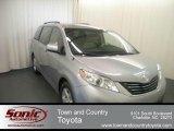 2012 Silver Sky Metallic Toyota Sienna LE #67566398