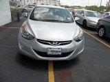 2013 Shimmering Air Silver Hyundai Elantra GLS #67566181