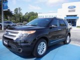 2013 Tuxedo Black Metallic Ford Explorer XLT #67593690