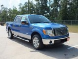 2012 Blue Flame Metallic Ford F150 XLT SuperCrew #67594241