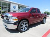 2011 Deep Cherry Red Crystal Pearl Dodge Ram 1500 ST Quad Cab #67593970
