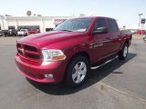 2012 Deep Cherry Red Crystal Pearl Dodge Ram 1500 Express Crew Cab 4x4 #67593940