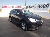 2010 Black Chevrolet Equinox LS #67593931