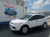 2013 Oxford White Ford Escape S #67593634