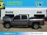 2009 Graystone Metallic Chevrolet Silverado 1500 LT Crew Cab #67594195