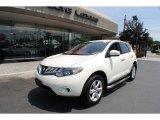 2009 Glacier Pearl Nissan Murano S AWD #67593916