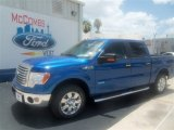 2012 Blue Flame Metallic Ford F150 XLT SuperCrew #67593627