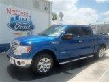 2012 Blue Flame Metallic Ford F150 XLT SuperCrew #67593627