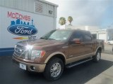 2012 Golden Bronze Metallic Ford F150 Lariat SuperCrew 4x4 #67593624