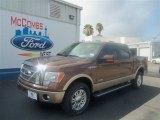 2012 Golden Bronze Metallic Ford F150 Lariat SuperCrew 4x4 #67593624