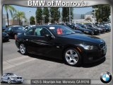 2009 Jet Black BMW 3 Series 328i Coupe #67593904