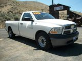 2009 Stone White Dodge Ram 1500 ST Regular Cab #67594171