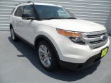 2013 White Platinum Tri-Coat Ford Explorer XLT #67593864