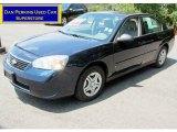 2007 Dark Blue Metallic Chevrolet Malibu LS Sedan #67593530