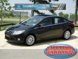 2012 Tuxedo Black Metallic Ford Focus SEL Sedan #67594092
