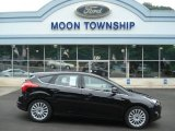 2012 Tuxedo Black Metallic Ford Focus Titanium 5-Door #67593823
