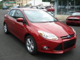 Red Candy Metallic Ford Focus in 2012