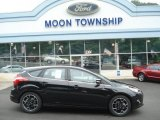 2012 Tuxedo Black Metallic Ford Focus Titanium 5-Door #67593821