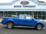 2012 Blue Flame Metallic Ford F150 FX4 SuperCab 4x4 #67593820
