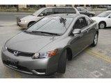 2007 Galaxy Gray Metallic Honda Civic EX Coupe #6737446