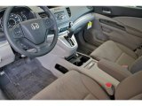 2012 Honda CR-V LX Gray Interior