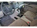2012 Honda CR-V LX Gray Interior