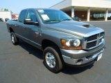 2007 Mineral Gray Metallic Dodge Ram 3500 SLT Quad Cab 4x4 #67594063