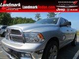 2010 Bright Silver Metallic Dodge Ram 1500 SLT Quad Cab #67593787
