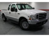 2003 Oxford White Ford F250 Super Duty XLT SuperCab #67594016