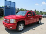 2013 Victory Red Chevrolet Silverado 1500 LT Extended Cab 4x4 #67644632