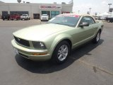 2006 Legend Lime Metallic Ford Mustang V6 Deluxe Convertible #67644917