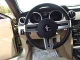 2006 Ford Mustang V6 Deluxe Convertible Steering Wheel