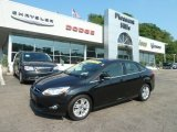 2012 Tuxedo Black Metallic Ford Focus SEL Sedan #67644910