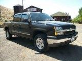 2004 Black Chevrolet Silverado 1500 LS Crew Cab 4x4 #67645171