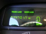 2003 Lincoln Town Car Executive Gauges