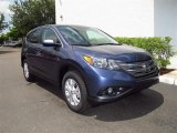 Twilight Blue Metallic Honda CR-V in 2012