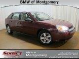 2005 Sport Red Metallic Chevrolet Malibu Maxx LS Wagon #67644829