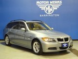 2008 Arctic Metallic BMW 3 Series 328xi Wagon #67644438