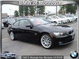 2009 Jet Black BMW 3 Series 328i Coupe #67644807