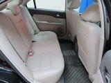 2011 Ford Fusion SEL V6 AWD Rear Seat