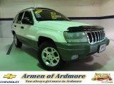2002 Stone White Jeep Grand Cherokee Sport 4x4 #67644784