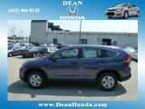 2012 Twilight Blue Metallic Honda CR-V LX 4WD #67645100